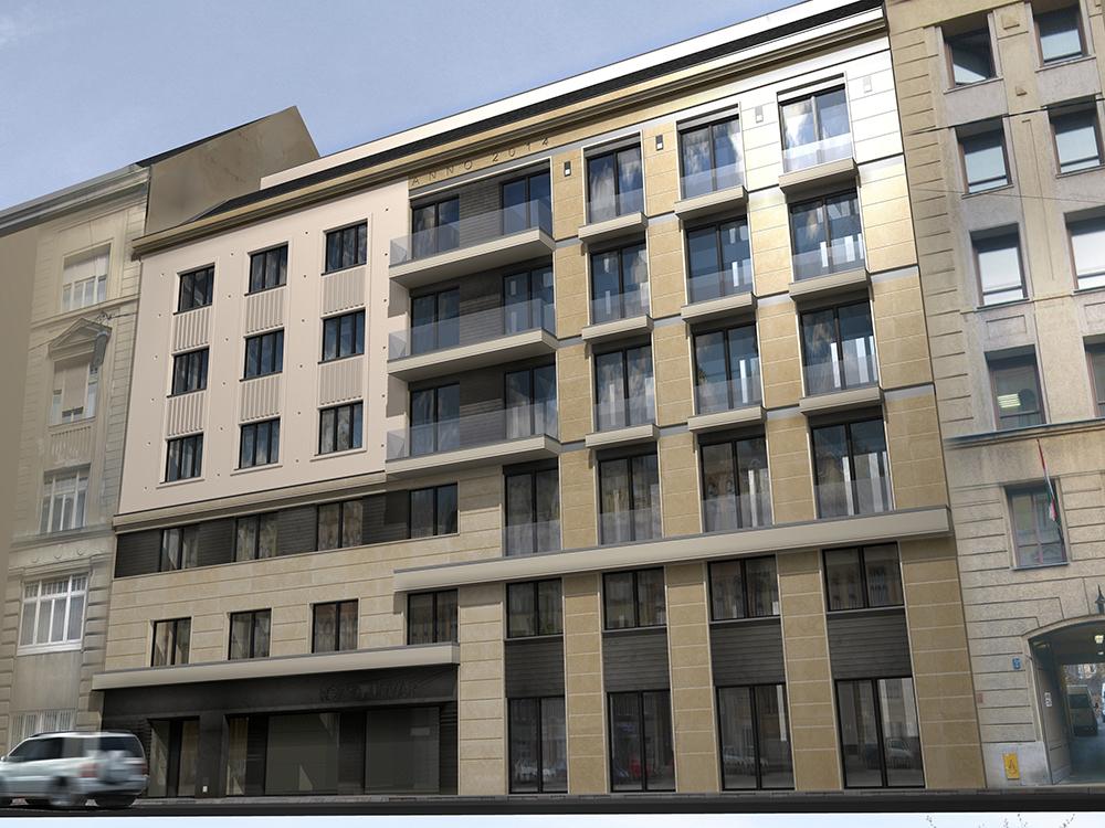 Rózsa street – Architecture: Lamro Ltd.