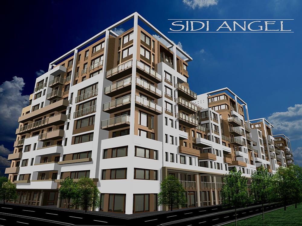 Sidi Angel Lakópark – Építészet: Lamro Kft.